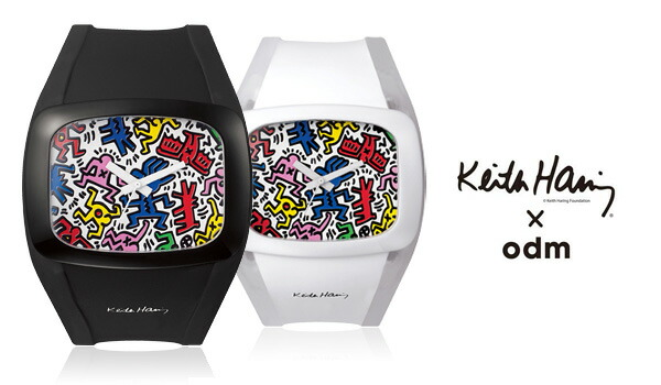 DD100A オーディーエム odm+ Keith Haring キースへリング コラボ
