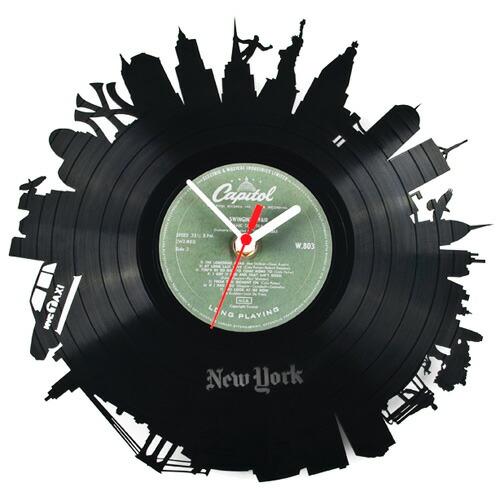 Re_Vinyl(リヴァイナル)レコード掛け時計