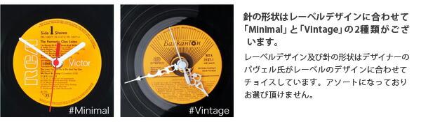 Re_Vinyl(リヴァイナル)レコード置き時計