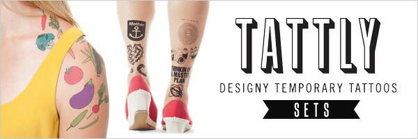 TATTLY/タトリー,タトゥリー,タトゥーシール,輸入雑貨,日本未入荷