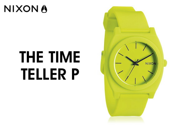 【NIXON/ニクソン:正規品】 TIME TELLER  タイムテラー 全19色