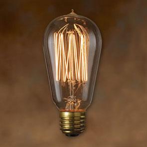 Edison Bulb SIGNATURE(S) エジソンバルブ カーボン電球 インテリア 照明