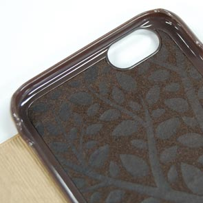【Kajsa/カイサ】Outdoor COLLECTION Multi Angle case iPhone6(4.7inch)木目 ナチュラル ウッド