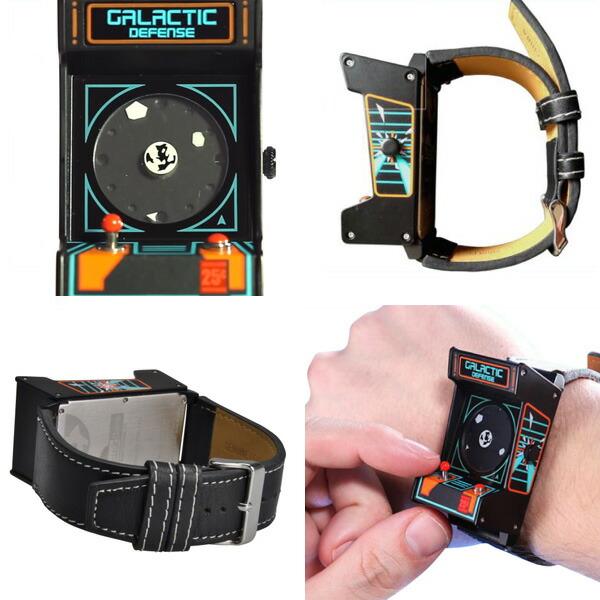 ��Think Geek�ۥ�ȥ?�������ɥ����å�/Classic Arcade Wristwatch