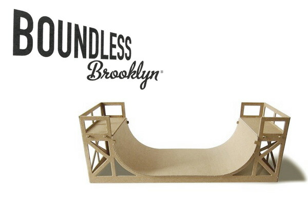 Boundless Brooklyn Halfpipe model kit