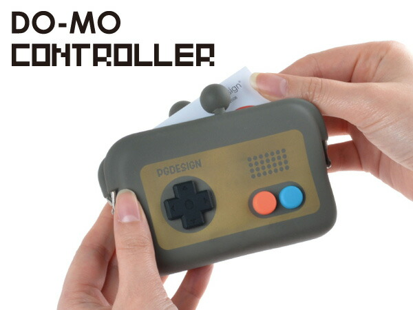 DO-MO CONTROLLER/ドーモ コントローラー シリコンがま口