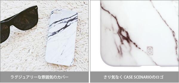 【CASE SCENARIO/ケースシナリオ】iPhone6Plus ケース エレメント マーブル ハードケース