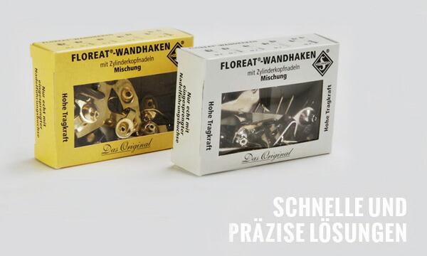 ドイツ FLOREAT社 ウォールフックセット 画鋲 ピン フック