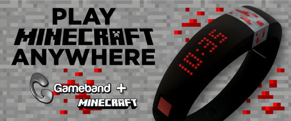 MiECRAFT マインクラフト Gameband ゲームバンド