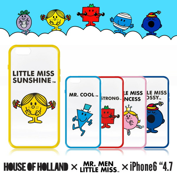 MR MEN & LITTLE MISS COVER IPHONE6ケース