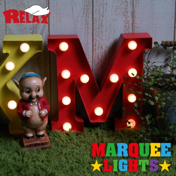 RELAX マーキーライト MARQUEE LIGHT LED電球 インテリア