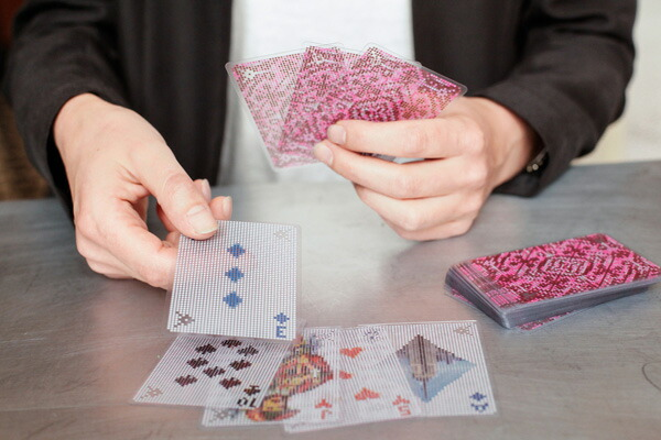 KIKKERLAND/キッカーランド Pixel Cards ピクセルカード トランプ