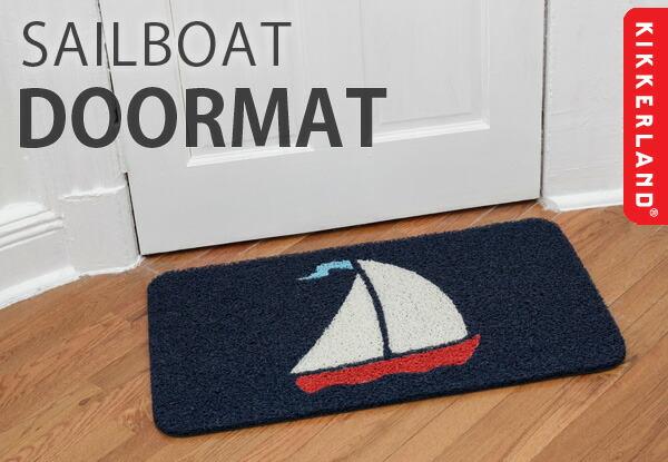 KIKKERLAND キッカーランド SAILBOAT DOORMAT/セイルボートドアマット