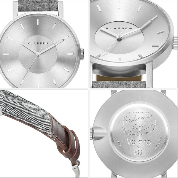 KLASSE14/クラッセ14 Sartoria Herringbone,Sartoria Flannel腕時計
