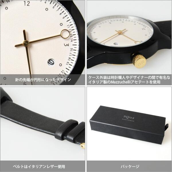 SQUARESTREET SQ03 MINUTEMAN 腕時計 TWOHAND