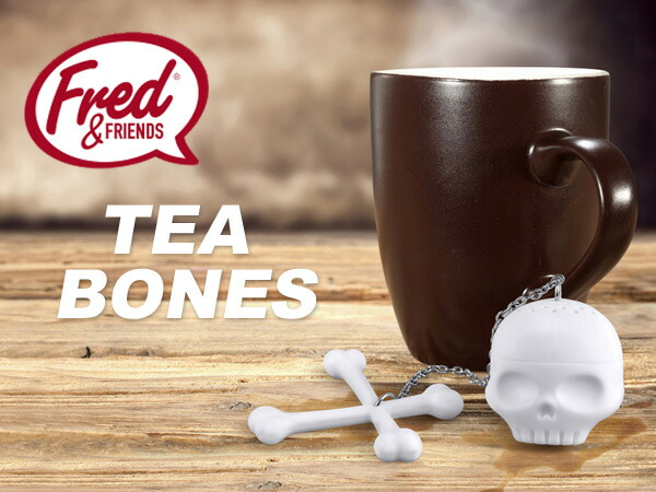 【Fred】TEA BONES tea infuser/【フレッド】 ティーボーン ティーインフューザー