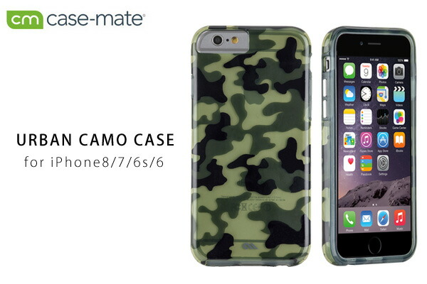 Case-Mate iPhone6 4.7inch 用 iPhone 6 4.7 inch Urban Camo Case iphone アイフォン4.7inc 迷彩