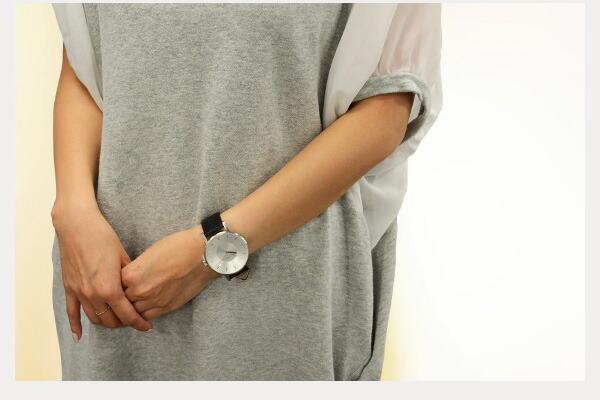 VOLARE SILVER 腕時計