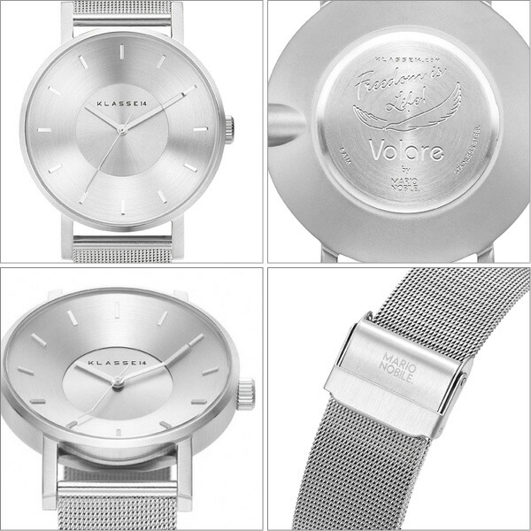 VOLARE SILVER WITH MESH BAND �ӻ��ס����ƥ�쥹����å���٥�ȡ�KL004