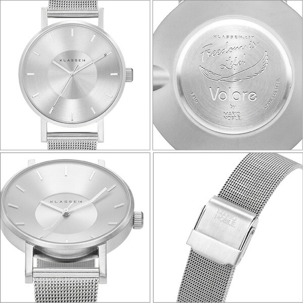 VOLARE SILVER WITH MESH BAND �ӻ��ס����ƥ�쥹 ��å���٥�� VO14SR002W ��ǥ�����