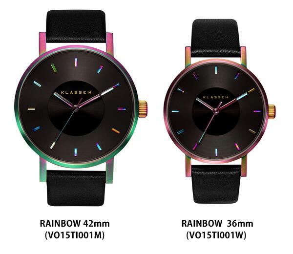 VOLARE RAINBOW 36mm 40mm レディース メンズ 腕時計