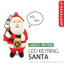 NOISY KEY LIGHT SANT LED KEYRING / Santa Claus LED Keyring imported goods watches and toys rather than gadgets Cynthia