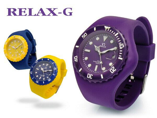 RELAX-G メンズ レディース 腕時計 ダイバーTYPE