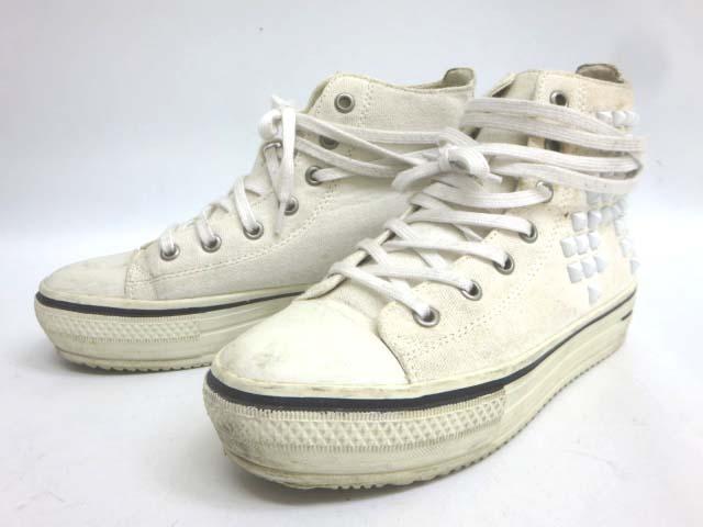 ... 白 【靴】 レディース 【中古