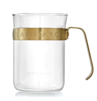 Barsita&Co バリスタアンドコー メタルフレームカップ Midnight Gold