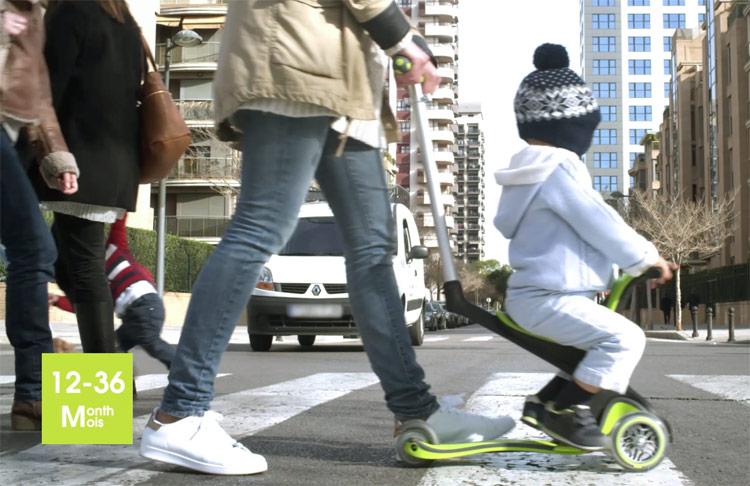 GLOBBERMYFREE 5in1(グロッバーマイフリー5in1)子供用/キッズ/スクーター/キックスケーター/キックボード/フランス/ライダー/スケートボード/トレーニング/誕生日/プレゼント