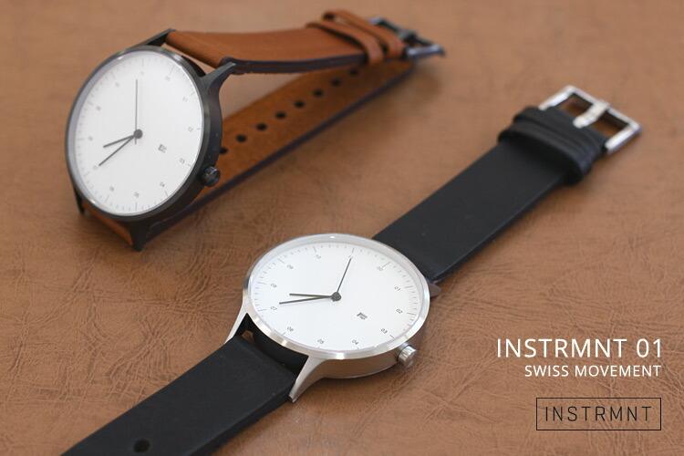 INSTRMNT instrmnt watch 腕時計 タイトルイメージ