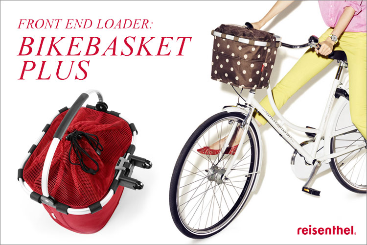 sixem shop rakuten global market risen tar reisenthel bikebasket plus plus bike basket. Black Bedroom Furniture Sets. Home Design Ideas