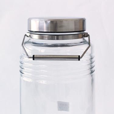 ADERIA(アデリア)スタイリッシュ 梅酒用瓶 MCコンテナー(Metal Cap Container)2L