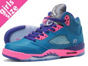 NIKE AIR JORDAN 5 RETRO GS Nike Air Jordan 5 retro GS TEAL/PINK