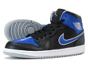 NIKE AIR JORDAN 1 MID Nike Air Jordan 1 mid BLACK/PLATINUM/ROYAL