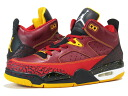 NIKE JORDAN SON OF LOW Nike Jordan サンオブ Lo RED/BLACK/GOLD fs3gm