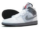 NIKE AIR JORDAN 1 RETRO ' 89 Nike Air Jordan 1 retro ' 89 WHITE/GREY/RED