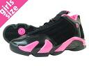 NIKE AIR JORDAN 14 GS Nike Air Jordan 14 GS BLACK/PINK