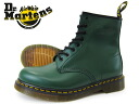 Dr.Martens 8HOLE BOOT 8 hole boots GREEN