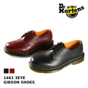Dr.Martens 1461 3EYE GIBSON SHOES Dr. Martin 3 eyelet ギブソンシュー BLACK (11838002) /CHERRY (11838600)