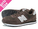 NEW BALANCE KL574CSY-new balance KL574CSY BROWN/GREY