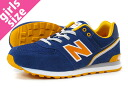 NEW BALANCE KL574JNG New Balance KL574JNG NAVY/YELLOW