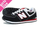 NEW BALANCE KL574KBG New Balance KL574KBG BLACK/WHITE/RED