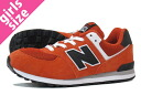 NEW BALANCE KL574VOG New Balance KL574VOG ORANGE/BLACK