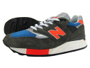 NEW BALANCE M998JC3-new balance M998 JC3 ARMYGREEN/RED/BLUE