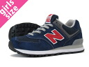 NEW BALANCE ML574NIN-new balance ML574NIN NAVY/RED