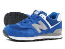 NEW BALANCE ML574SGB-new balance ML 574 SGB BLUE/GREY
