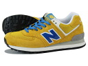 NEW BALANCE ML574UM New Balance ML574UM YELLOW/BLUE