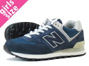 NEW BALANCE ML574VN-new balance ML574VN NAVY/SILVER