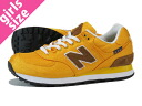 NEW BALANCE WL574BPY New Balance WL574BPY YELLOW/BROWN